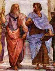 Aristotle and Plato